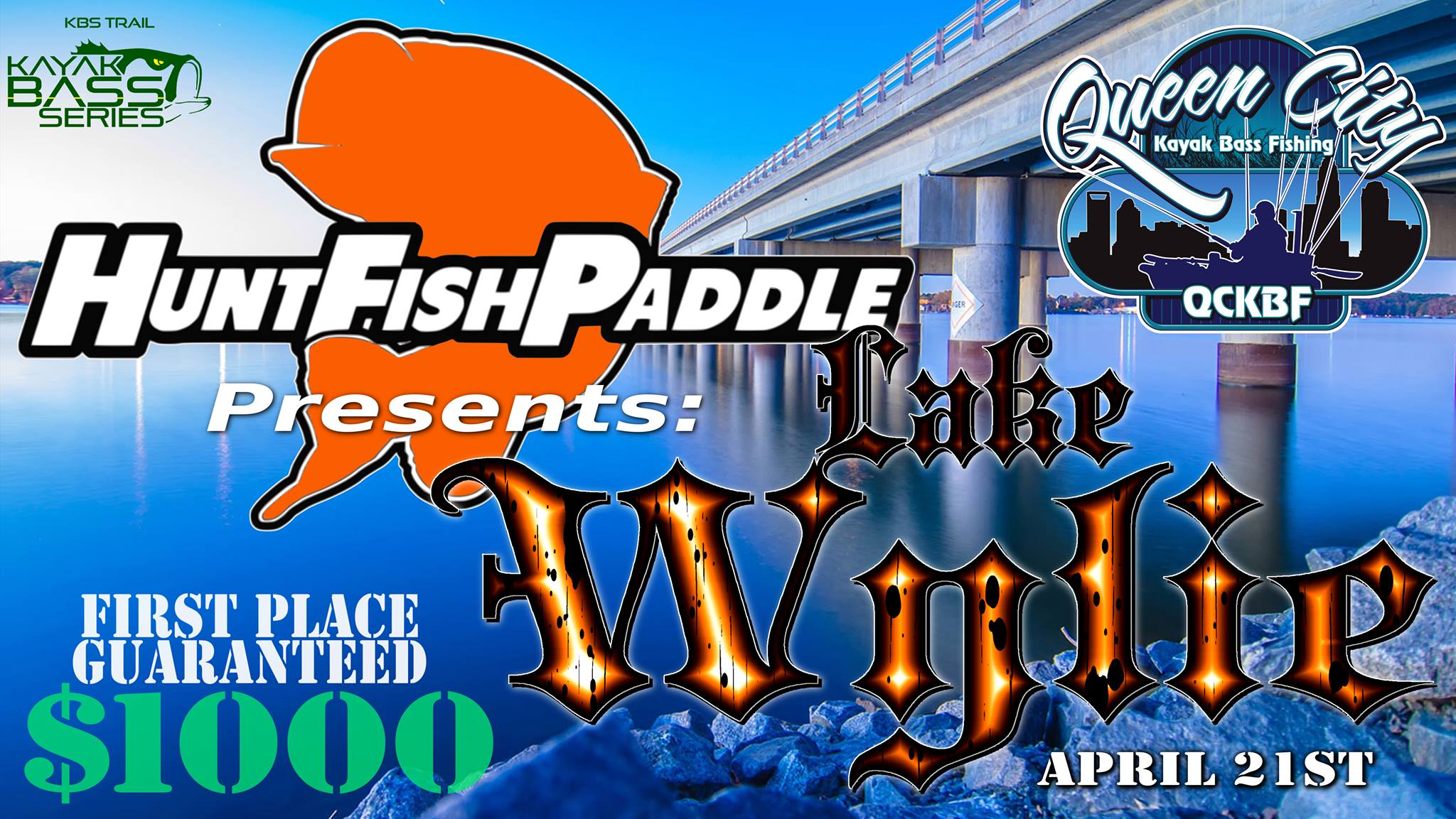 QCKBF Event 3 Presented by Hunt Fish Paddle