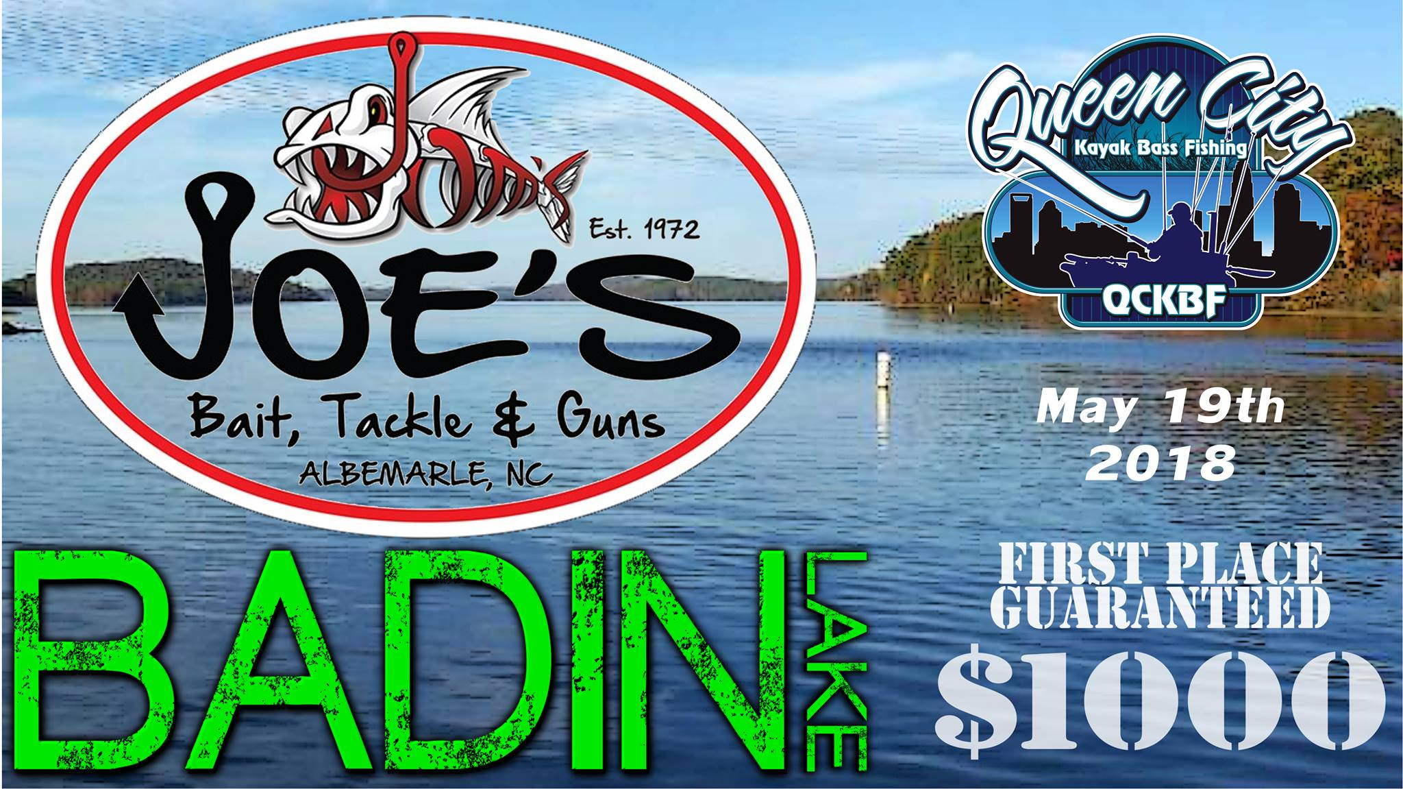 QCKBF Event 4 Presented by Joe's Bait, Tackle & Guns