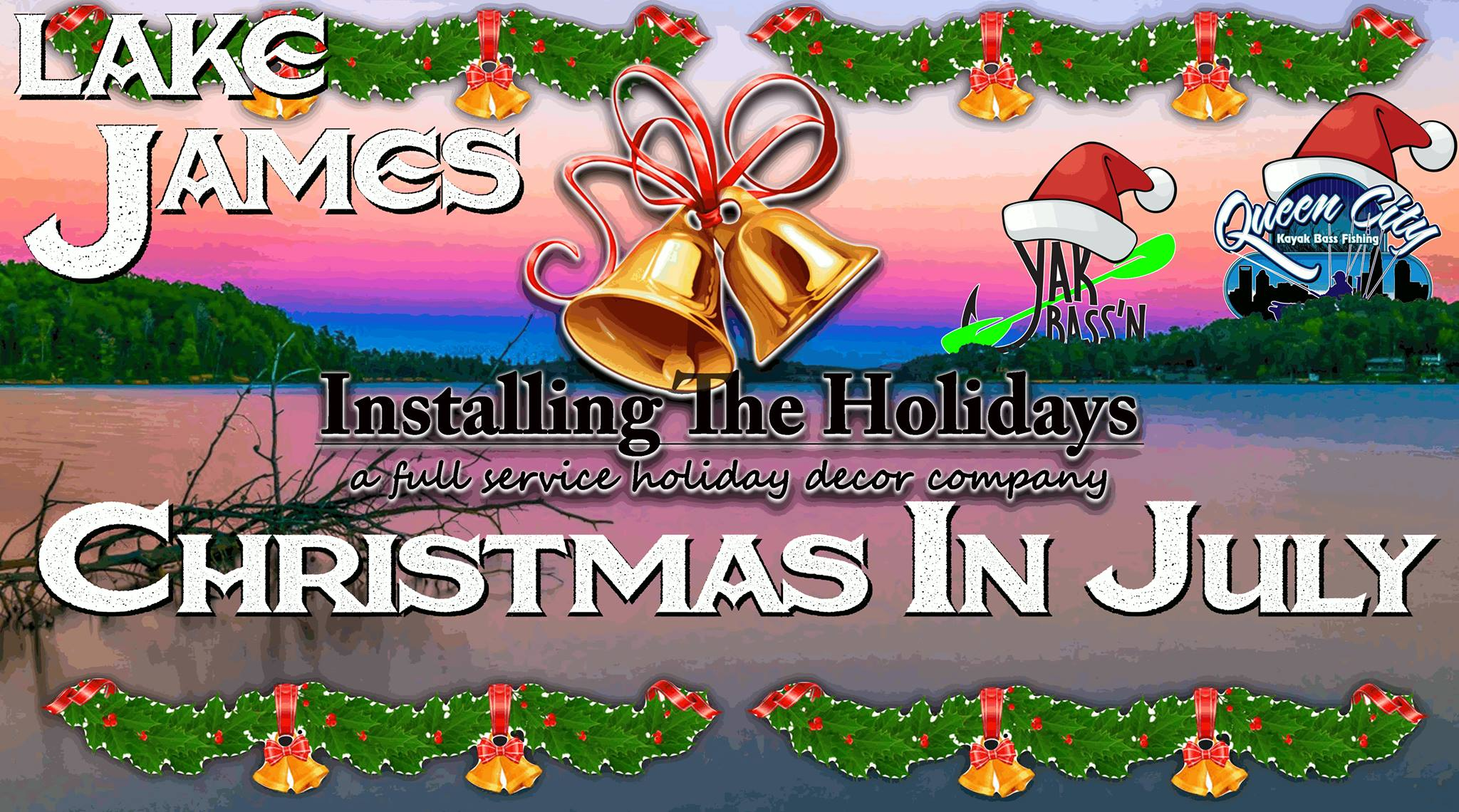 QCKBF Event 6: Lake James presented by Installing the Holidays