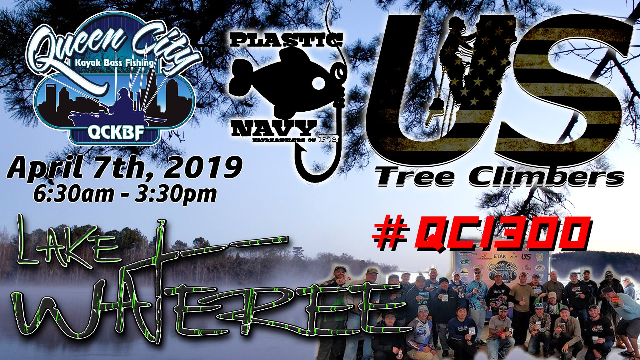 Event 3 Lake Wateree Presented by US Tree Climbers