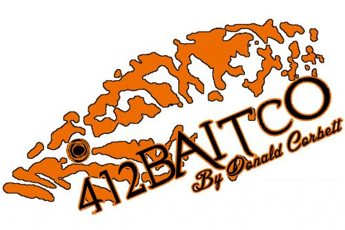 B 412 Baits logo